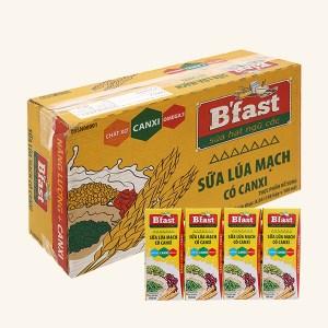 Thùng 48 hộp sữa lúa mạch BFAST 180ml