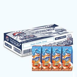 Thùng 48 hộp thức uống dinh dưỡng Ovaltine DHA+ 180ml