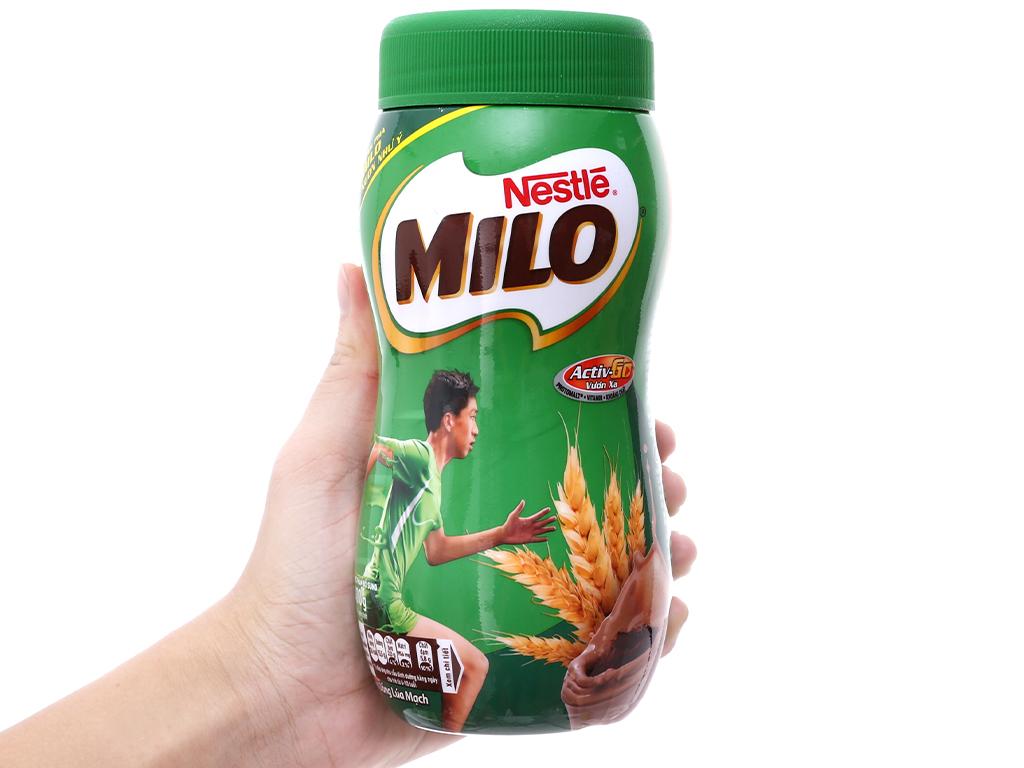 Bột thức uống lúa mạch Milo Active Go hũ 400g 5