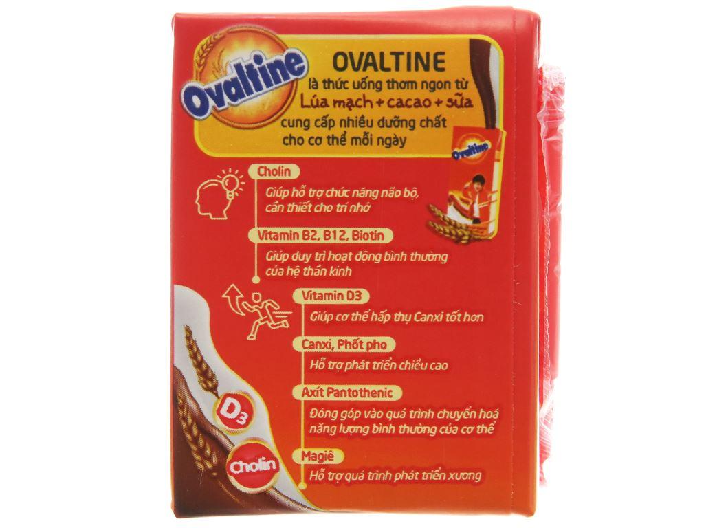 Lốc 4 hộp thức uống lúa mạch hương vị socola Ovaltine 110ml 4