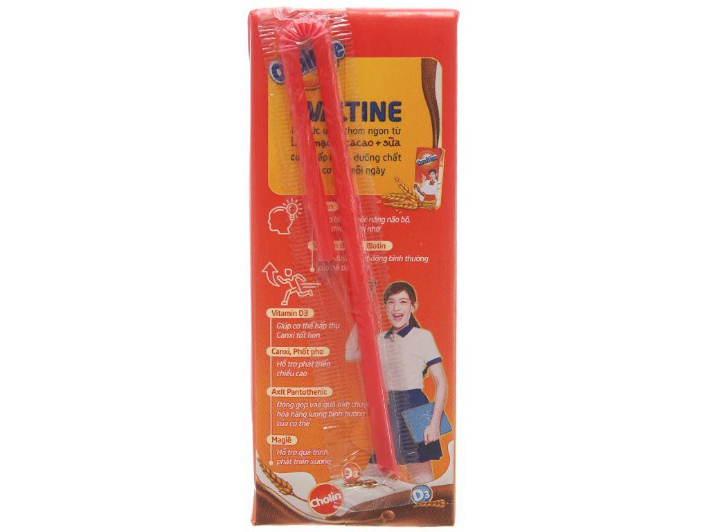 Lốc 4 hộp thức uống lúa mạch hương vị socola Ovaltine 180ml 4