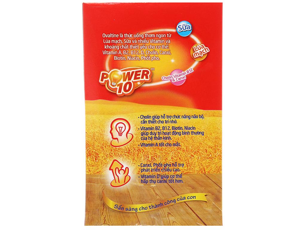 Bột thức uống lúa mạch hương vị socola Ovaltine hộp 285g 2