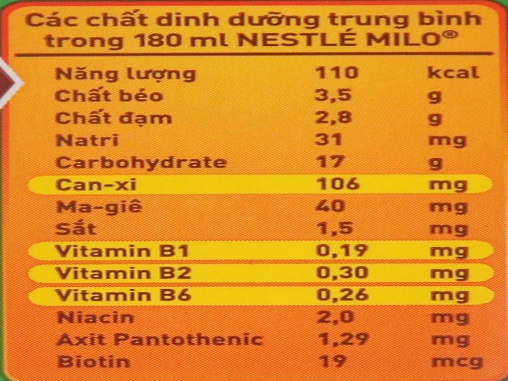 Lốc 4 hộp thức uống lúa mạch Milo Active Go 180ml 6
