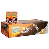 Thức uống Cacao lúa mạch Super Su Su hộp 110ml(thùng 48 hộp)