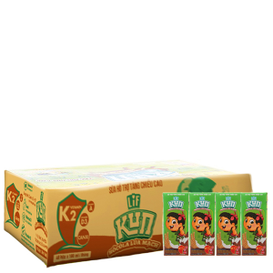 Thùng 48 hộp sữa lúa mạch Kun sô cô la lúa mạch 180ml