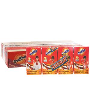 Thùng 48 hộp sữa lúa mạch Ovaltine socola 110ml