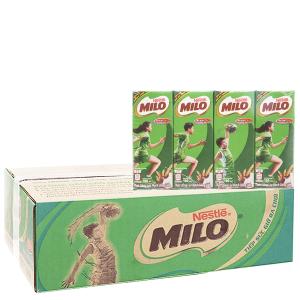 Thùng 48 hộp sữa lúa mạch Milo Active Go 180ml