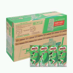 Thùng lốc 4 - 48 hộp thức uống lúa mạch Milo Active Go 180ml