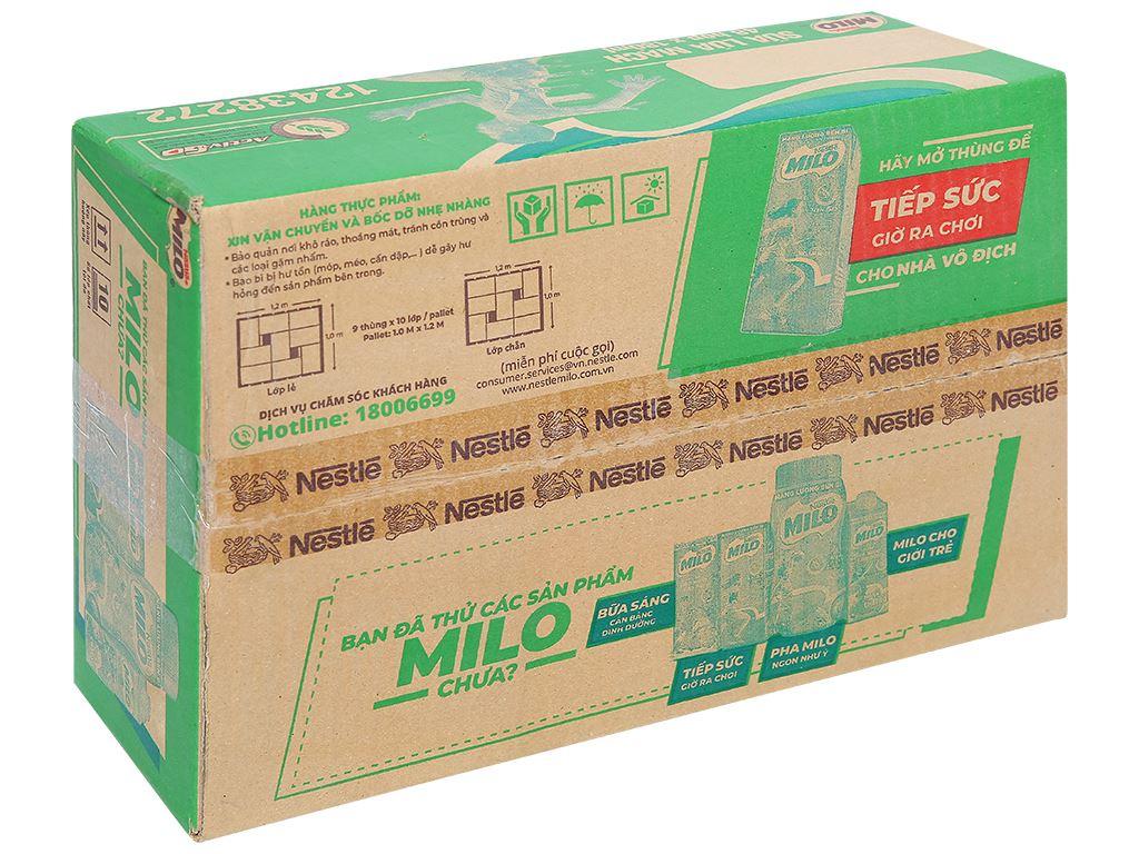 Thùng 48 hộp thức uống lúa mạch Milo Active Go 180ml 1