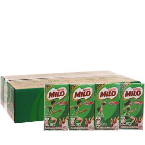 Thùng 48 hộp thức uống lúa mạch uống liền Milo Active Go 115ml