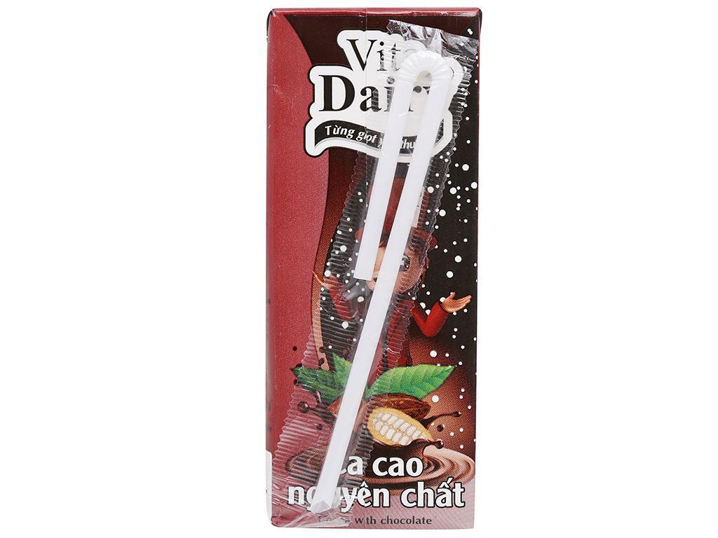 Lốc 4 hộp ca cao nguyên chất Vita Dairy 180ml 4