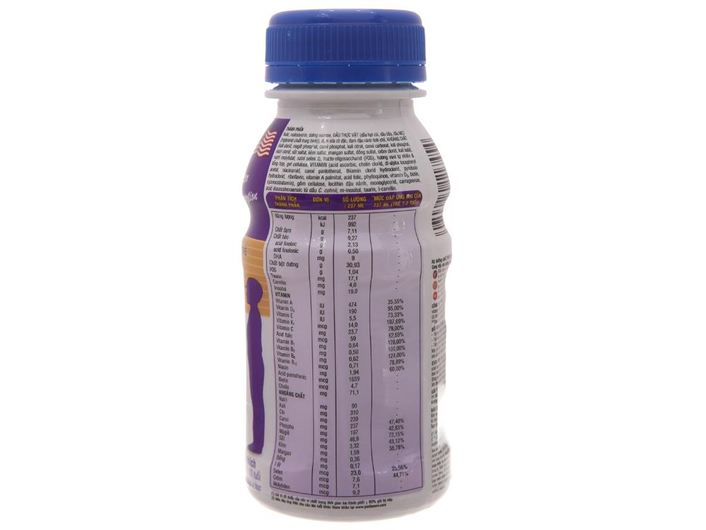 Sữa bột pha sẵn Abbott PediaSure vani chai 237ml 3