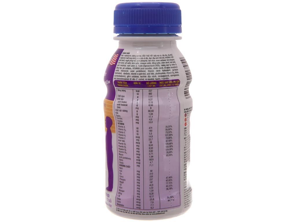 Lốc 6 chai sữa bột pha sẵn Abbott PediaSure vani 237ml 3