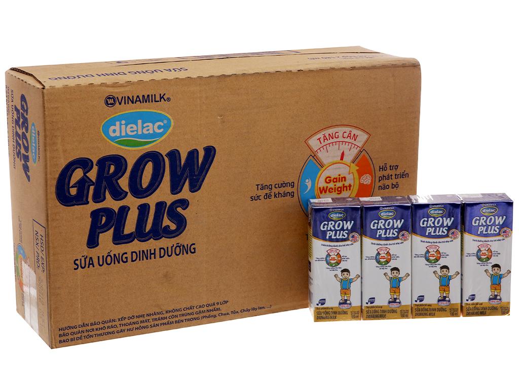 Thùng 48 hộp sữa uống dinh dưỡng Dielac Grow Plus 180ml (cho trẻ nhẹ cân) 2