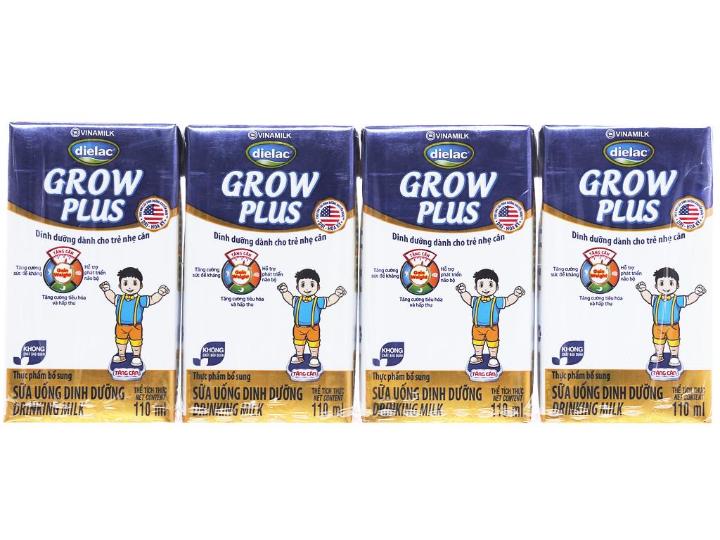 Thùng 48 hộp sữa bột pha sẵn Dielac Grow Plus 110ml (cho trẻ nhẹ cân) 2