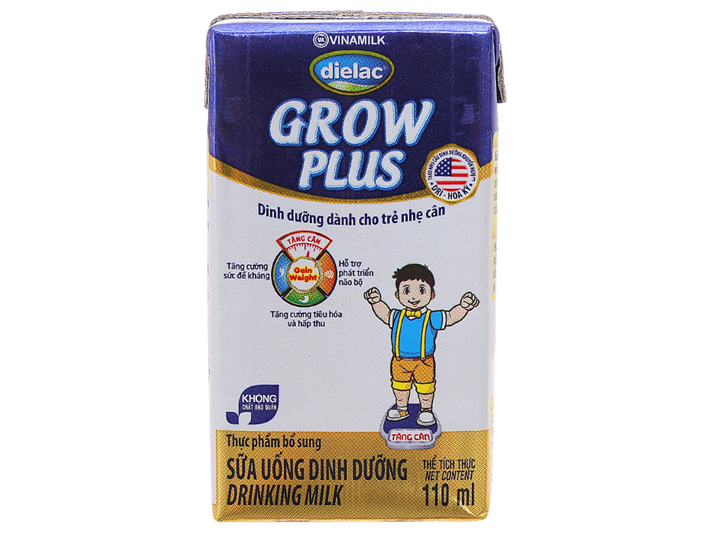 Sữa bột pha sẵn Dielac Grow Plus 110ml 1