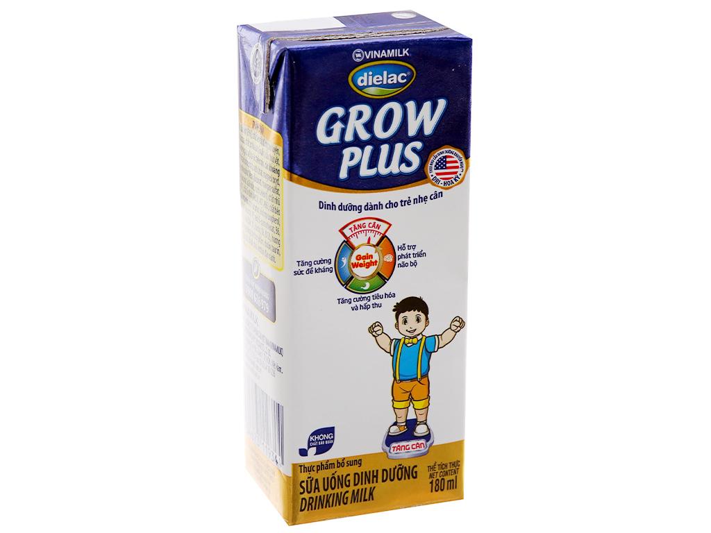 Sữa bột pha sẵn Dielac Grow Plus có đường 180ml 2