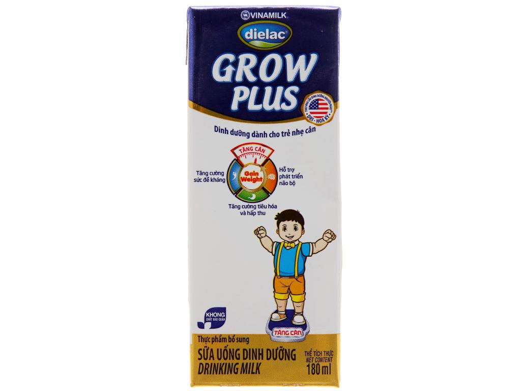Sữa bột pha sẵn Dielac Grow Plus có đường 180ml 3