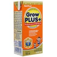Sữa bột pha sẵn Grow Plus hương Vani