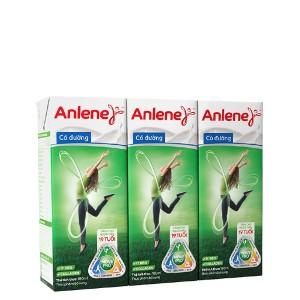 Lốc 3 hộp sữa bột pha sẵn Anlene Movepro có đường 180ml