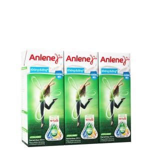 Lốc 3 hộp sữa bột pha sẵn Anlene Movepro không đường 180ml