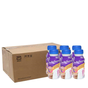 Thùng 24 chai sữa bột pha sẵn Abbott PediaSure socola 237ml