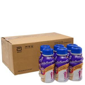 Thùng 24 chai sữa bột pha sẵn Abbott Pediasure vani 237ml