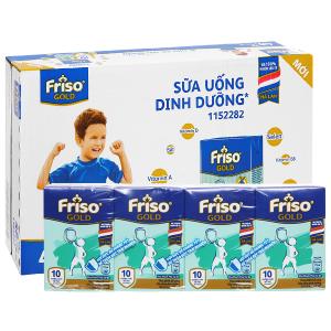 Thùng 48 hộp sữa uống dinh dưỡng Friso Gold vani 110ml