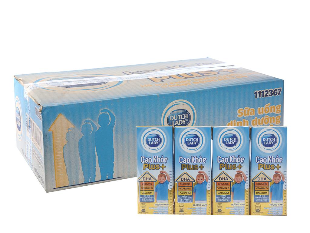 Thùng 48 hộp sữa bột pha sẵn Dutch Lady Cao Khỏe Plus+ vani 170ml 1