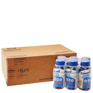 Thùng 24 chai sữa bột pha sẵn Ensure Original chai 237ml