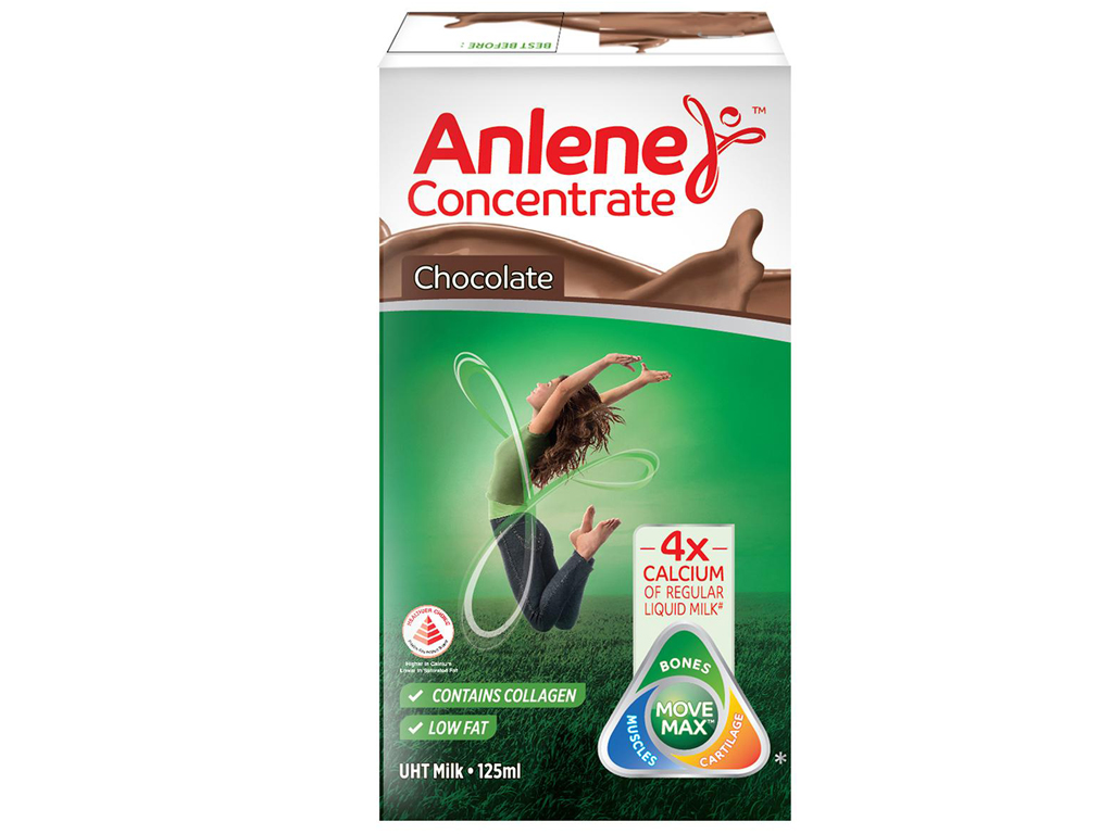 Sữa bột pha sẵn Anlene Concentrate Multi socola 125ml 1