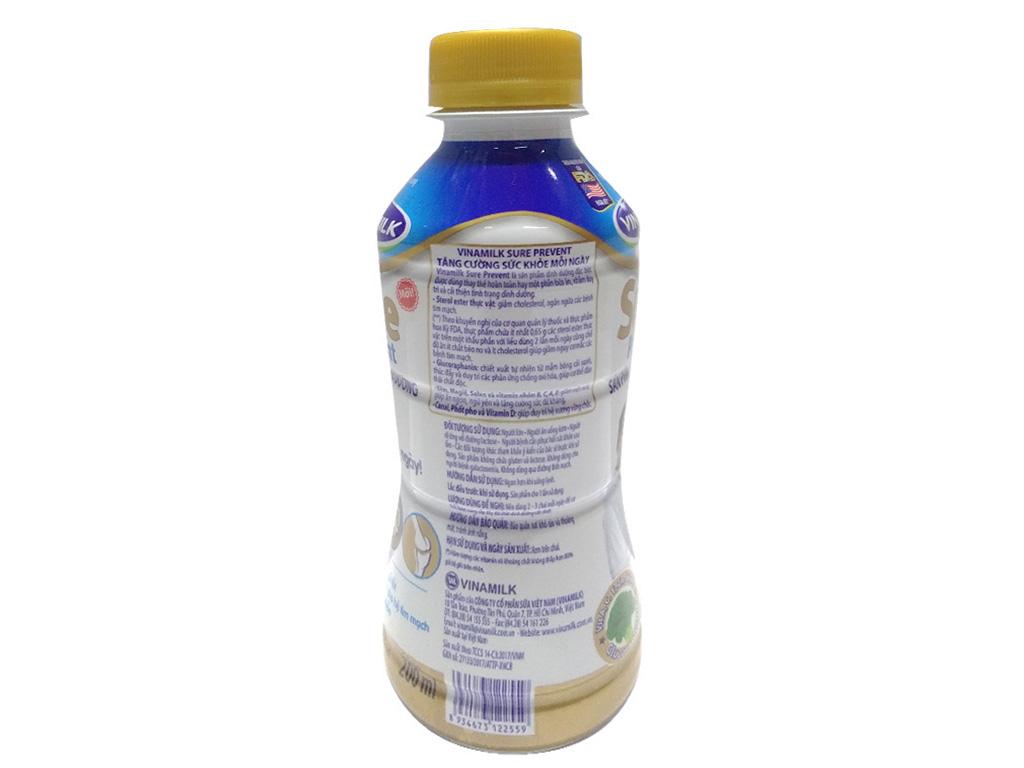 Thùng 24 chai sữa bột pha sẵn Vinamilk Sure Prevent 200ml 4