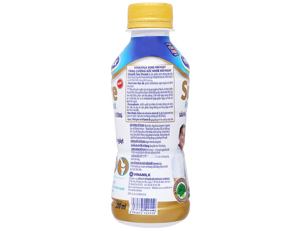 Thùng 24 chai sữa dinh dưỡng pha sẵn Vinamilk Sure Prevent 200ml 7