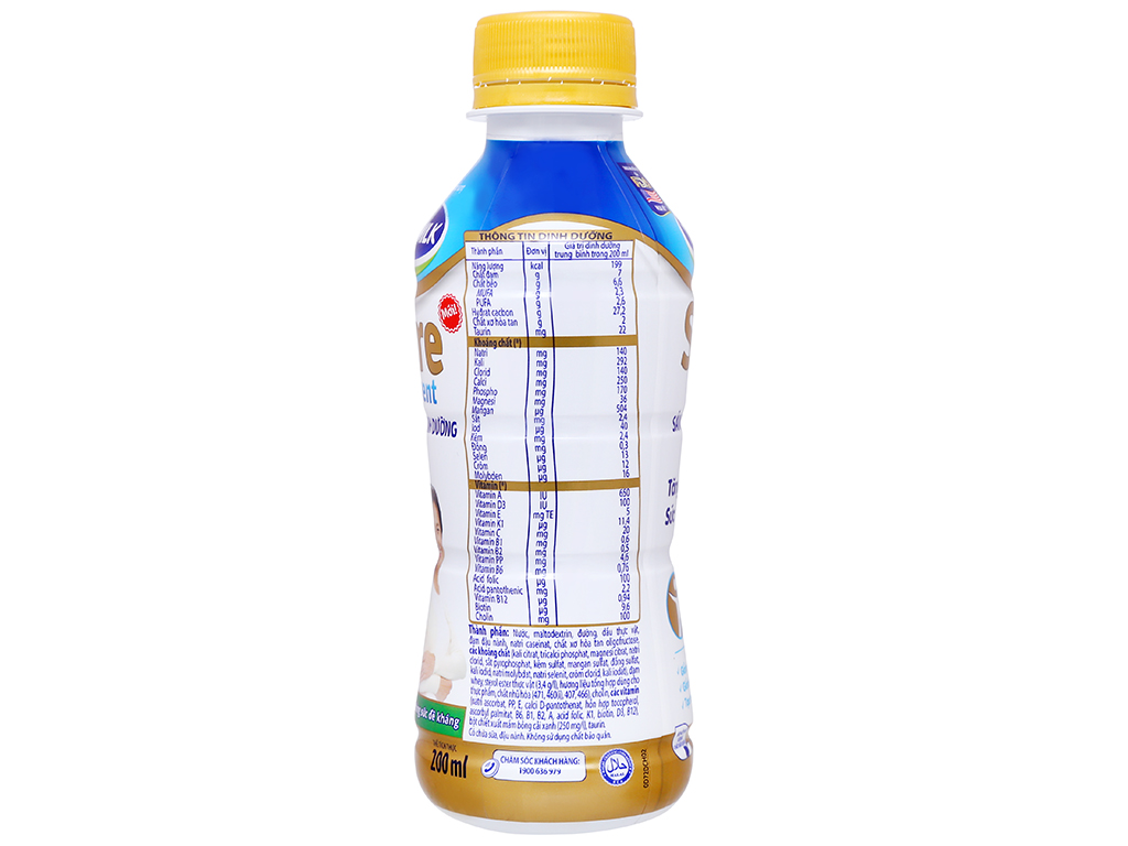 Thùng 24 chai sữa dinh dưỡng pha sẵn Vinamilk Sure Prevent 200ml 8