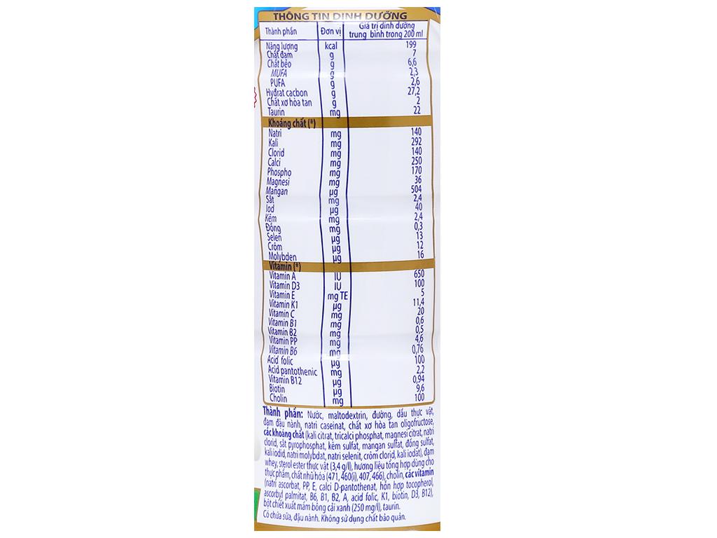 Thùng 24 chai sữa dinh dưỡng pha sẵn Vinamilk Sure Prevent 200ml 9