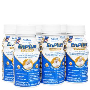 Lốc 6 chai sữa pha sẵn NutiFood EnPlus Diamond 237ml