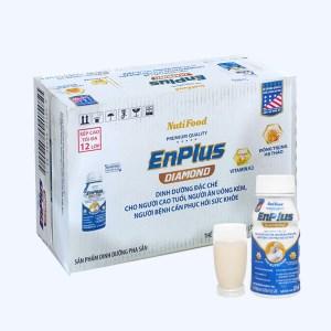Thùng 24 chai sữa pha sẵn NutiFood EnPlus Diamond 237ml