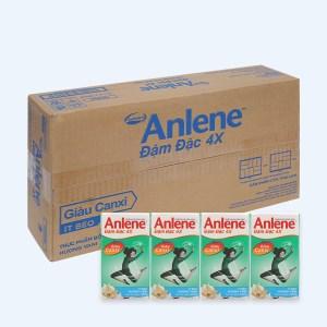 Thùng 48 hộp sữa bột pha sẵn Anlene Đậm đặc 4X vani 125ml