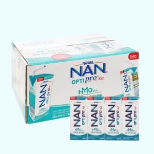 Thùng 24 hộp sữa uống dinh dưỡng Nestlé Nan Optipro Kid 180ml