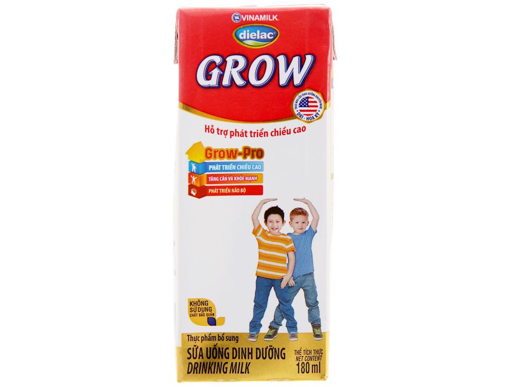 Sữa bột pha sẵn Dielac Grow có đường 180ml 3