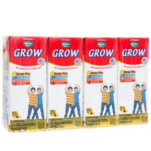 Lốc 4 hộp sữa uống dinh dưỡng Dielac Grow 180ml (tăng chiều cao)