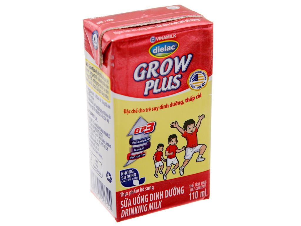 Sữa bột pha sẵn Dielac Grow Plus có đường 110ml 2
