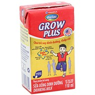 Sữa uống dinh dưỡng Dielac Grow Plus hộp giấy 110ml