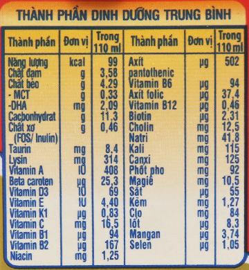 Thùng 48 hộp sữa dinh dưỡng pha sẵn NutiFood Grow Plus+ vani 110ml (cho trẻ suy dinh dưỡng, thấp còi) 6