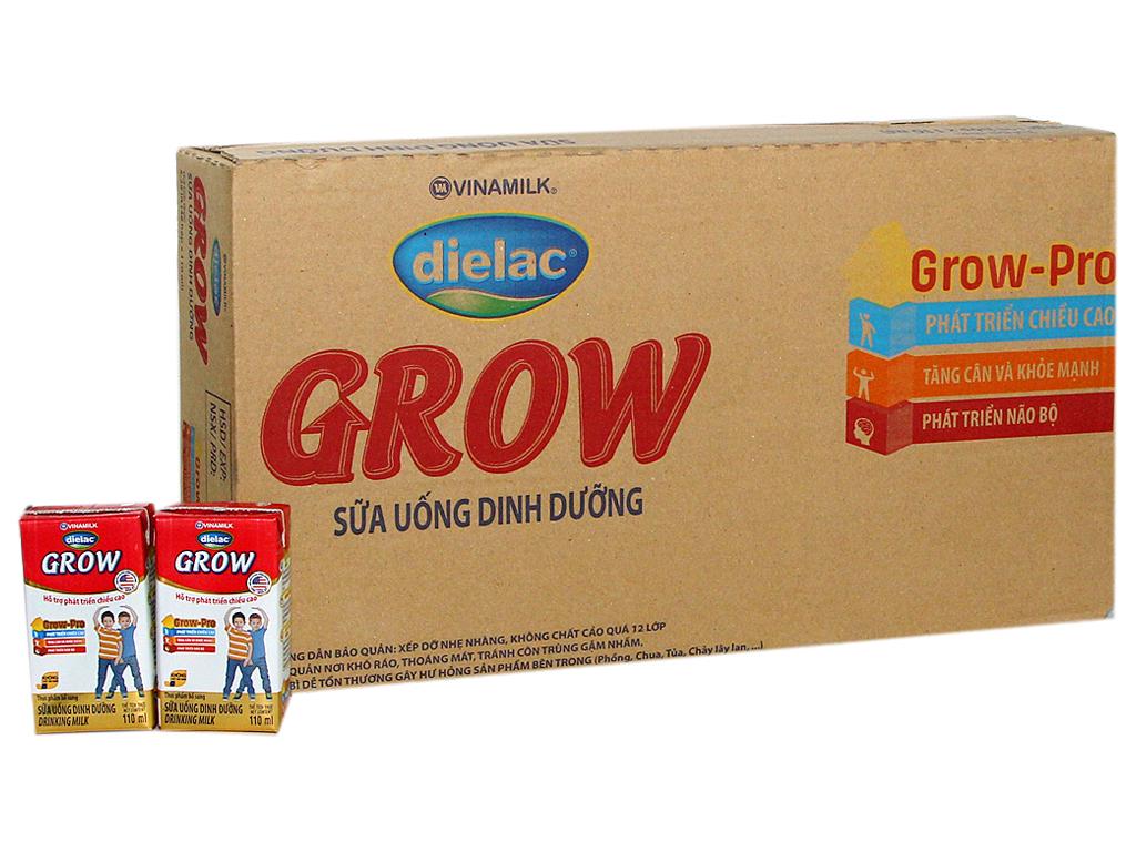 Thùng 48 hộp sữa bột pha sẵn Dielac Grow 110ml 1
