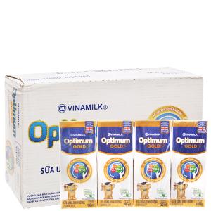 Thùng 48 hộp sữa uống dinh dưỡng Optimum Gold 180ml