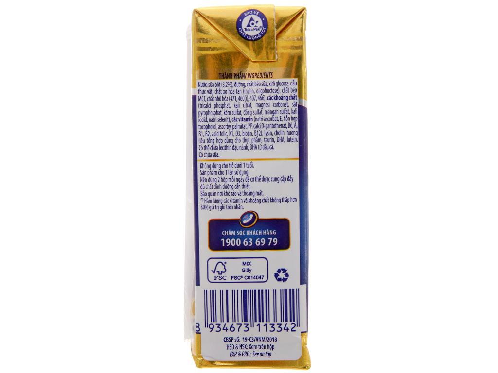 Thùng 48 hộp sữa bột pha sẵn Dielac Alpha Gold 180ml 5
