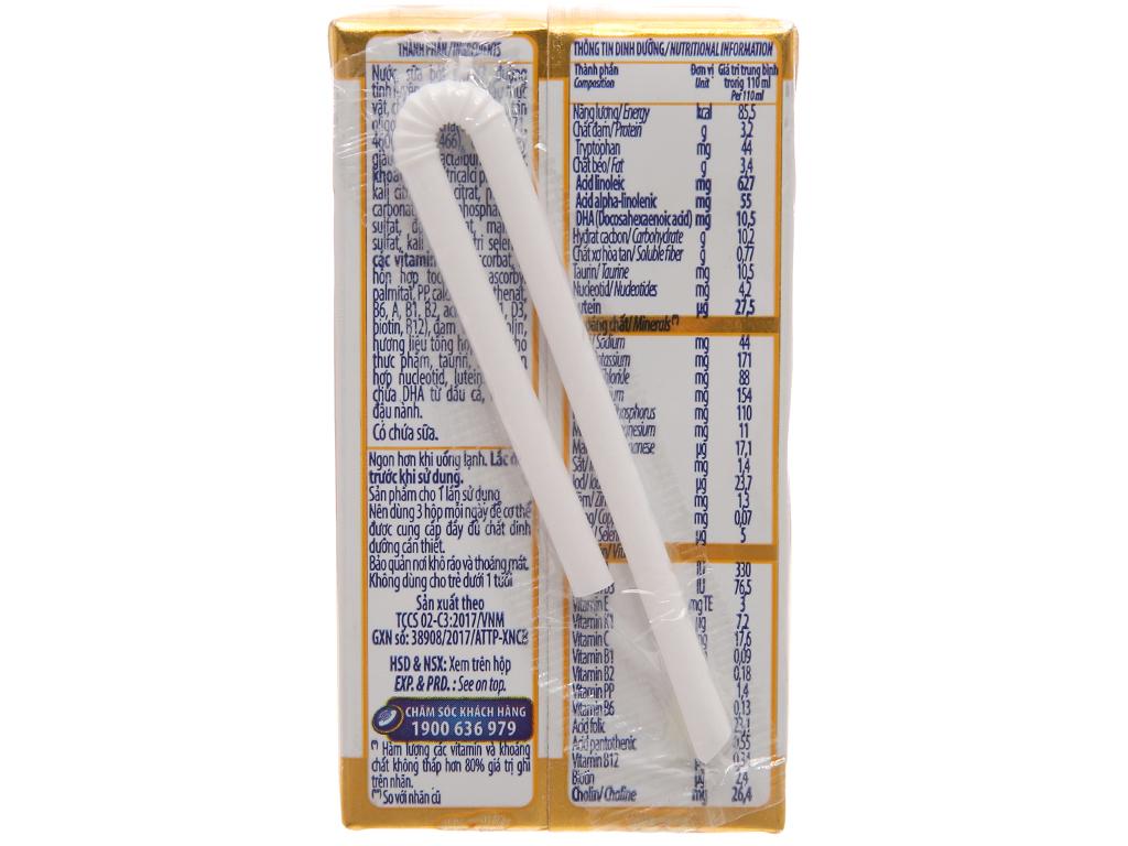 Thùng 48 hộp sữa uống dinh dưỡng Optimum Gold 110ml 3