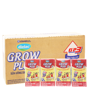 Thùng 48 hộp sữa bột pha sẵn Dielac Grow Plus 110ml (cho trẻ thấp còi)