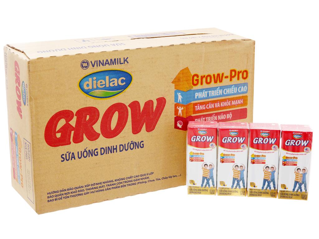 Thùng 48 hộp sữa bột pha sẵn Dielac Grow 180ml (tăng chiều cao) 2